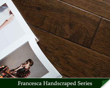 Francesca Engineered Handscraped Hardwood Flooring