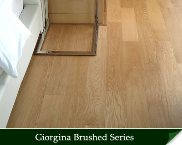 Giorgina Brushed Hardwood Flooring