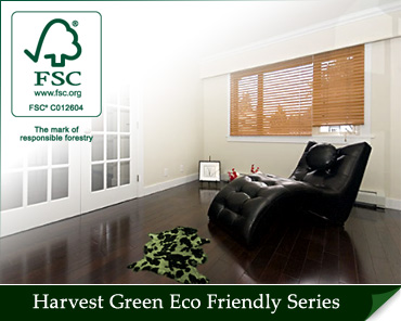 Harvest Green FSC 100% Pure Certified Eco Friendly Engineered Hardwood Flooring